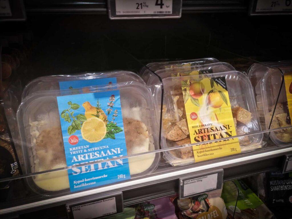 Virna Foodin uudet Artesaaniseitanit kaupan hyllyllä.